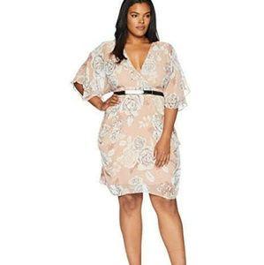 City Chic Women's Apparel Plus Size Dress Wrap